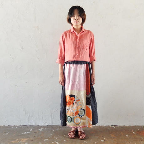 takuroh shirafuji Hikizakura[Bolo Tsugihagi Gathered Skirt] two