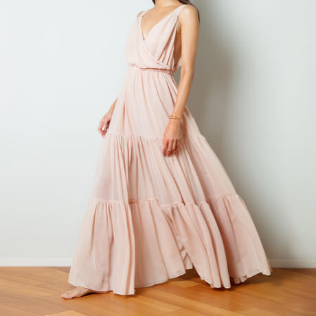 【Sea of Rose】DRESS - DUSTY PINK