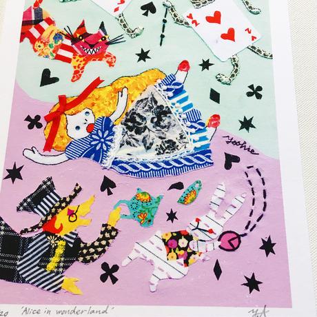 【限定120枚】'Alice in wonderland' アートプリント