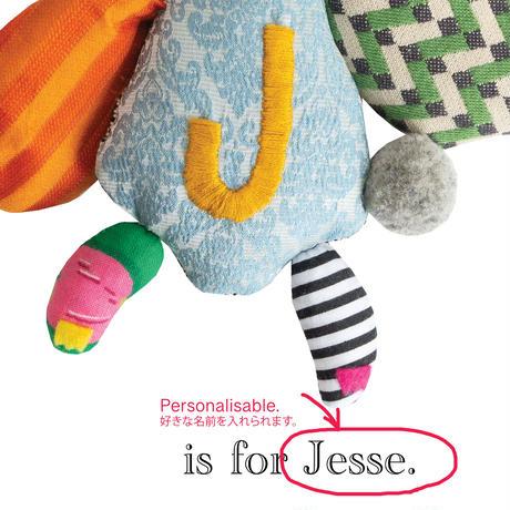 【J】【好きな名前を入れられます】ハギレ鳥のアートプリント