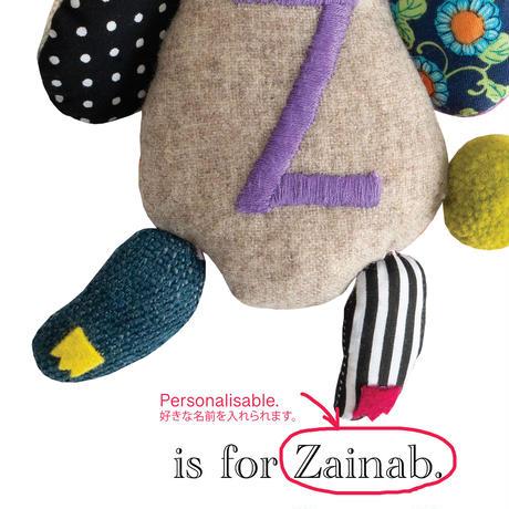 【Z】【好きな名前を入れられます】ハギレ鳥のアートプリント