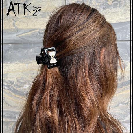 ダブルリボン バンスクリップ 大人可愛い ヘアクリップ 髪留め 簡単ヘアアレンジ まとめ髪 レディース ヘアアクセサリー