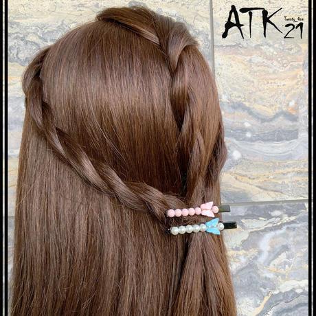 バタフライ 蝶々 パール カジュアル 上品  ヘアクリップ ダッカールクリップ 髪留め レディース きれい目 ヘアアクセサリー