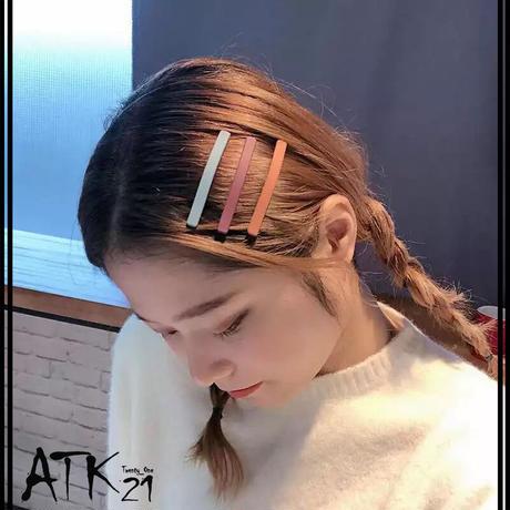 マット くすみカラー ヘアピン ヘアクリップ シンプル しっかりホールド 簡単ヘアアレンジ 髪どめ 前髪 レディース ヘアアクセサリー