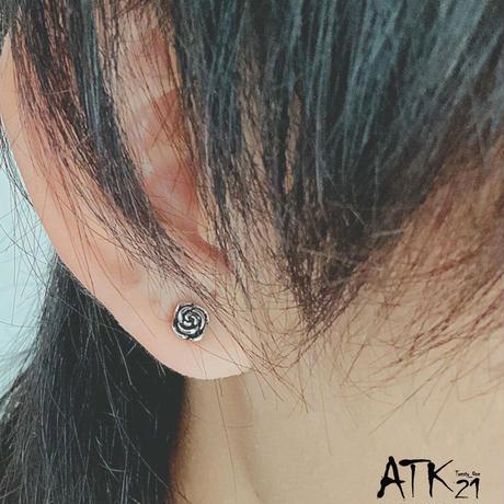 片耳用(1個売り)ローズ 薔薇 ボディピアス スモールサイズ ステンレス サージカルステンレス316L メンズ レディース ユニセックス アクセサリー
