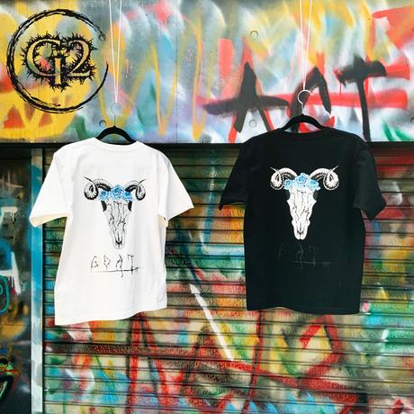 GOAT ゴート Tシャツ 半袖  カットソー tシャツ おしゃれ 快適な 無地 軽い 柔らかい かっこいい カジュアル ファション 黒 白 メンズ レディース ユニセックス