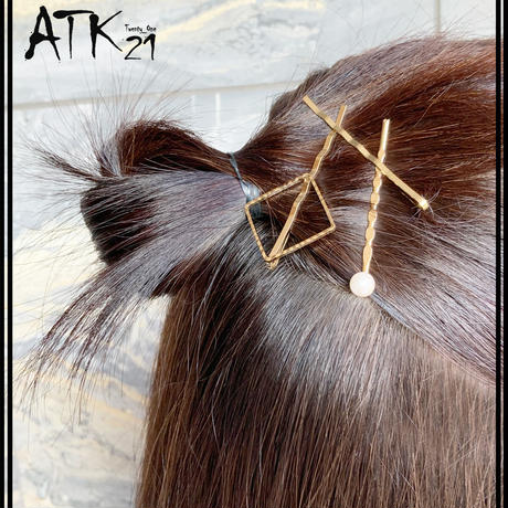 (3点セット)パール フレーム パール ヘアピン セット 上品 キレイ目 シンプル  簡単ヘアアレンジ 髪どめ 前髪 レディース ヘアアレンジ ヘアアクセサリー