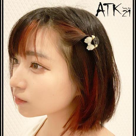 リボンモチーフ Ribbon ミニバンスクリップ 前髪留め 小さ目 しっかりホールド ヘアアレンジのポイント 髪留め 簡単ヘアアレンジ レディース ヘアアクセサリー