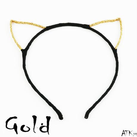 猫耳 カチューシャ ネコ耳 ねこ耳 子猫 ラメ コスプレ コスチューム ヘアバンド レディース ヘアアクセサリー:HK170902