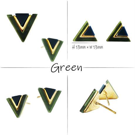 (2点セット)トライアングル 三角形 スタッドピアス ピアス 大人ピアス シンプル 上品 おしゃれ レディース アクセサリー