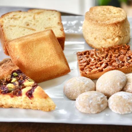 洋菓子トリートBOXセット(厳選茶葉11種とミルグレイの洋菓子)