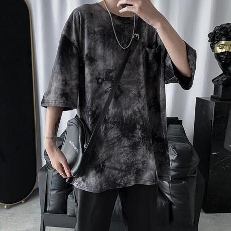 """胸ポケット付きBIG BODY Tシャツ""""Uneven"""""""
