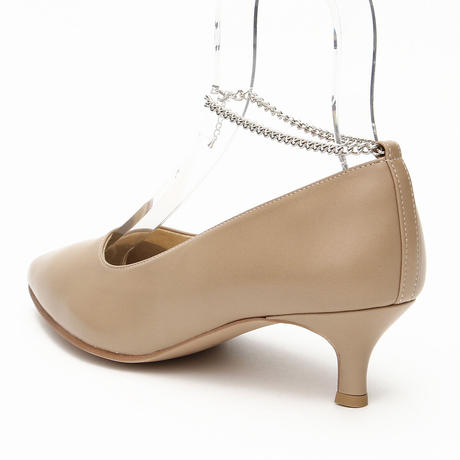 Pearl Ankle Chain Pink beige