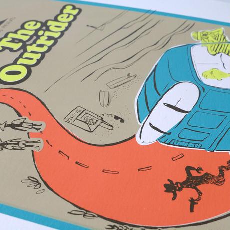 オリジナルポスター Original poster [ The Outrider ]