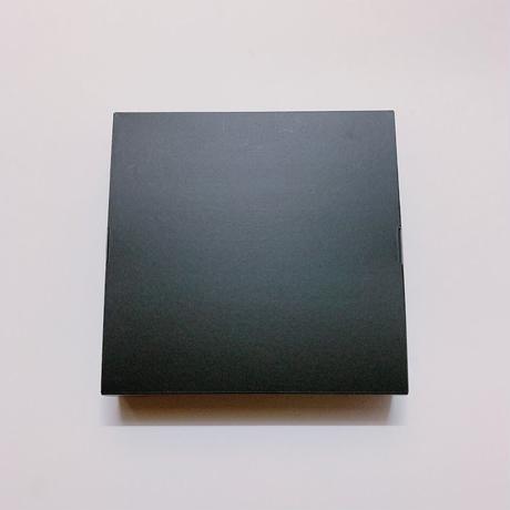 全国発送はこちらから お花のカタチのゼリー箱 黒4個セット