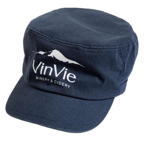 VinVieロゴワークキャップ