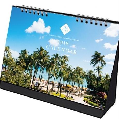 Always Sunshine Co. 2018 Hawaii カレンダー / 卓上リングタイプ