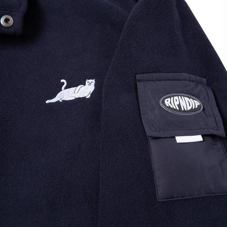 RIPNDIP CASTANZA BRUSHED FLEECE (NAVY)