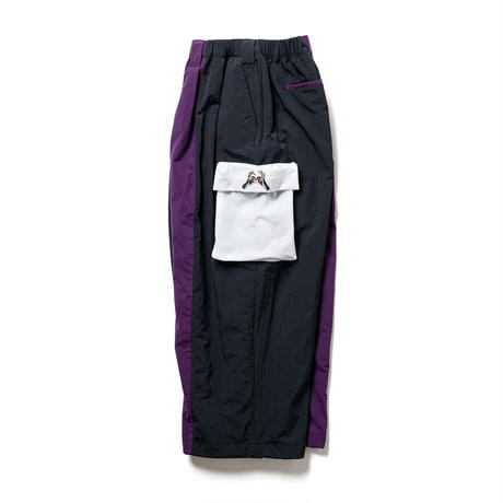 "SAMURAI TRACK PANTS  ""TIGHTBOOTH / KILLER BONG"" (Purple, Forest)"