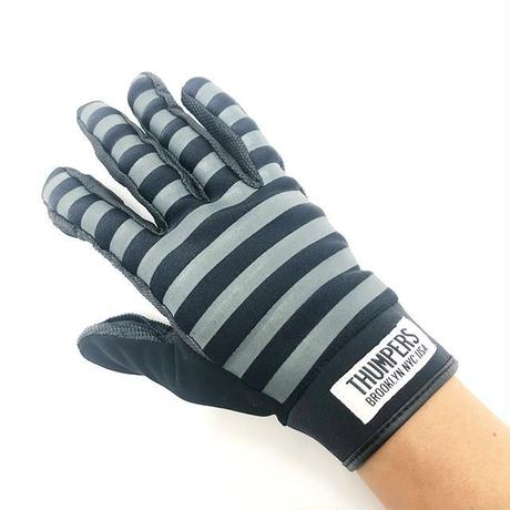 THUMPERS NYC SLOT GLOVE (BLACK/GREY)