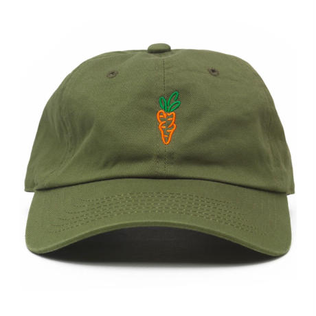Carrots By Anwar Carrots CARROTS TWO TONE BALL CAP (OLIVE, BLACK)