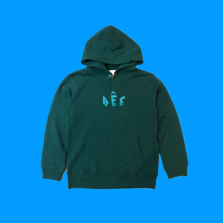 【for KIDS】AFC DOLPHIN WATCHER HOODlE (Forest Green, Black, Natural)