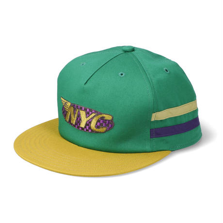 THUMPERS NYC THUMPERS TEAM CAP (OLIVE, BLACK)