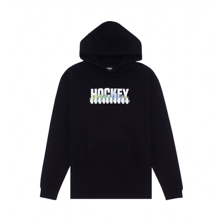 HOCKEY Neighbor Hoodie  (Black, Dark Green, Grey Heather, Slate Blue)