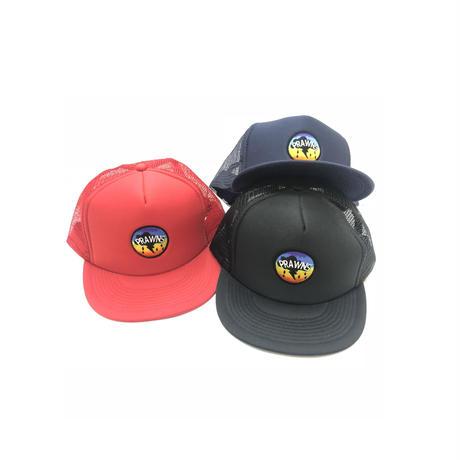 PRAWNS RAINBOW MESH CAP (RED, NAVY, BLACK)