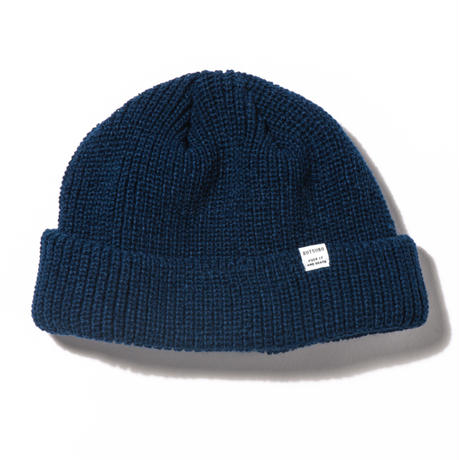 坩堝 RUTSUBO 6PANEL BEANIE (SALMON, BLACK, MUSTERD, GREY, OLIVE, NAVY)