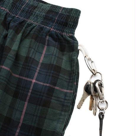 Cookman Chef Pants Corduroy Tartan (GREEN)
