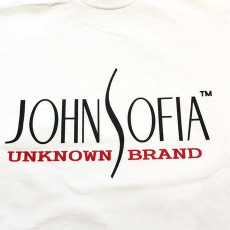 JOHN SOFIA  Logo  Long  Sleeve  (White)