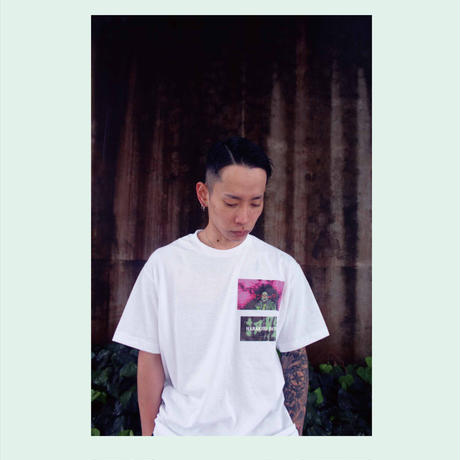 LONELY 論理 SWEET HOMES TEE (WHITE, BLACK)