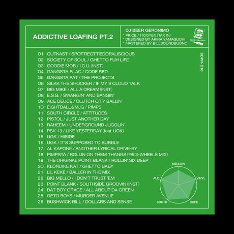 "DJ BEER GERONIMO ""ADDICTIVE LOAFING pt.2""  (mix cd)"