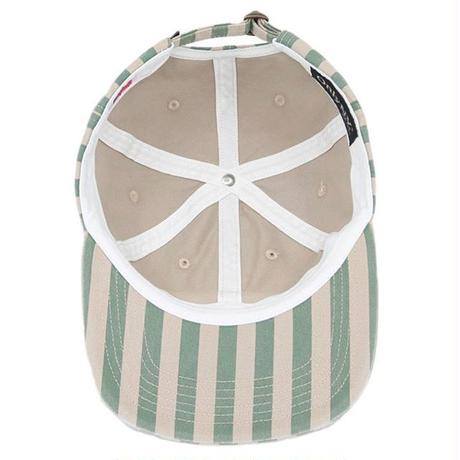 Only NY Nautical Striped Polo Hat (Seagrass)