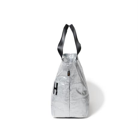 TIGHTBOOTH TRASH TOTE BAG (Silver)