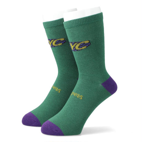 THUMPERS NYC THUMPERS TEAM SOCKS (WHITE, GREEN)