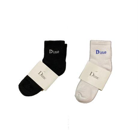 Dime SOCKS (White, Black)