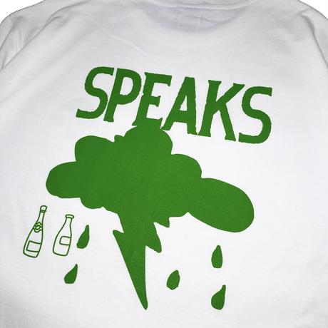 JOHN SOFIA SPEAKS TEE (WHITE/GREEN, BLACK/YELLOW)