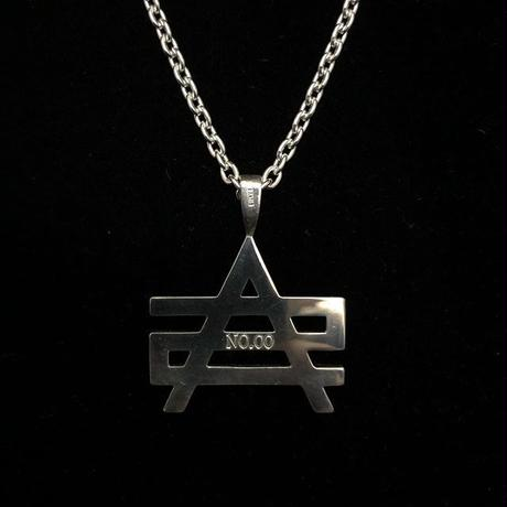 ATTACK ORIGINAL AS LOGO 925 SILVER NECKLACE LIMITED (シリアルナンバー入り)