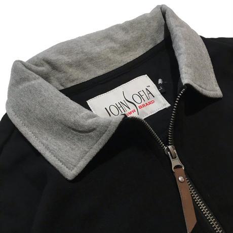 JOHN SOFIA Half Zip Sweat (Black)