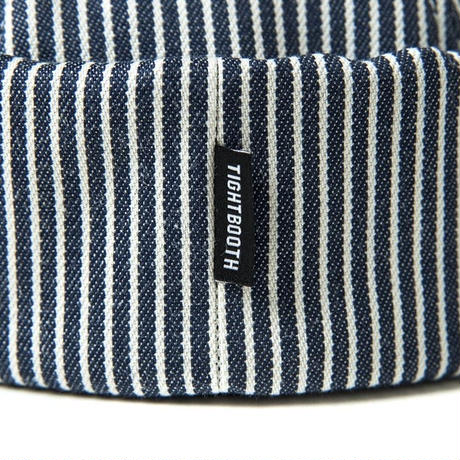 TIGHT BOOTH HICKORY ROLL CAP (NAVY)
