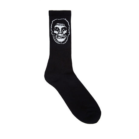 OBEY MISFITS SOCKS (WHITE, BLACK)