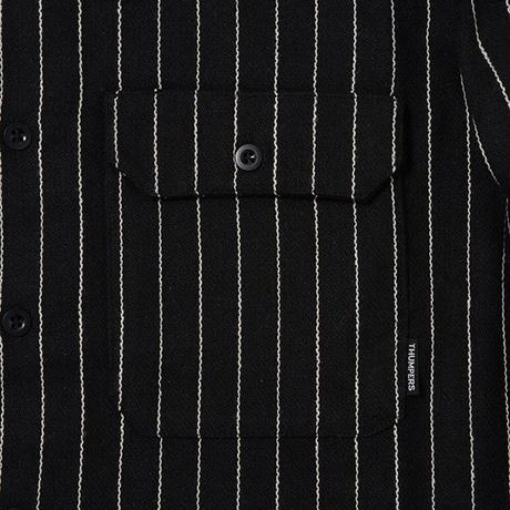 THUMPERS NYC STRIPED SHIRT (GREY, BLACK)