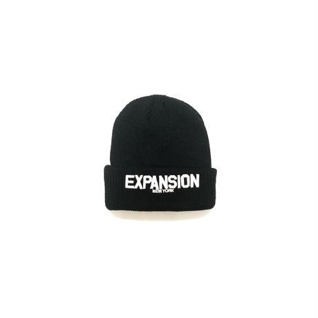 EXPANSION BEANIE CAP (BLACK)