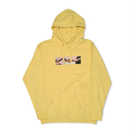 PIZZA MICHELANGELO PIGMENT HOODY (LIGHT BLUE, LEMON)