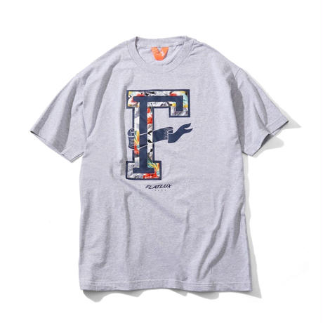 FLATLUX Hippy Mind Tee (white, navy, heather grey)