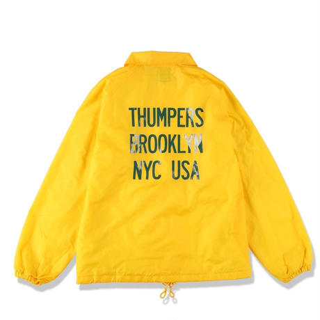 THUMPERS LOGO COACHES JACKET (YELLOW, NAVY, BLACK)