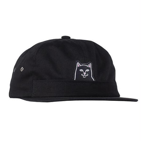 84b7f1e5c6f RIPNDIP LORD JERMAL 6 PANEL POCKET HAT (BLACK) ...