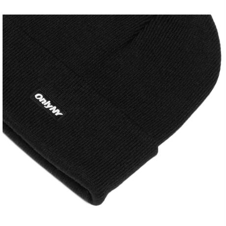 Only NY. Block Logo Beanie (Black, Heather Grey, Forest Green)